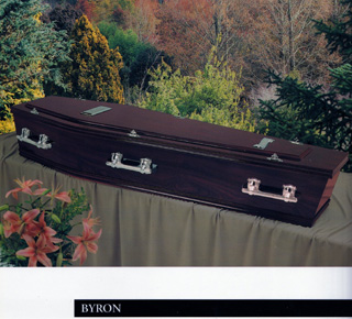 Byron Rosewood Coffin